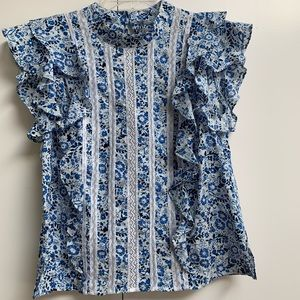 Veronica Beard top. Size 6. New without tags.